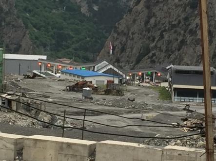 georgische Grenze